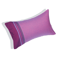 Beach cushion Lilas