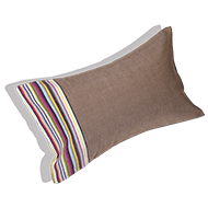 Beach cushion taupe