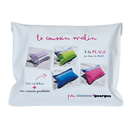 photo 3 Coussin de plage Framboise