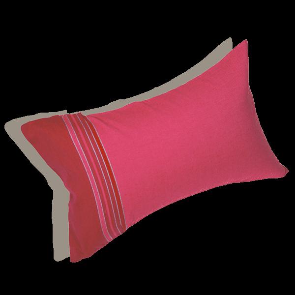le coussin de plage framboise de simone et georges. Black Bedroom Furniture Sets. Home Design Ideas