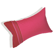 photo 2 Coussin de plage Framboise