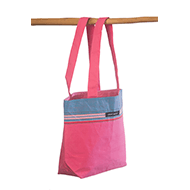 Small beach bag Hibiscus