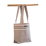 Small beach bag Taupe