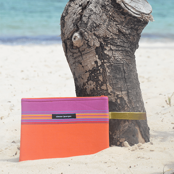 grande photo Beach pouch Mango
