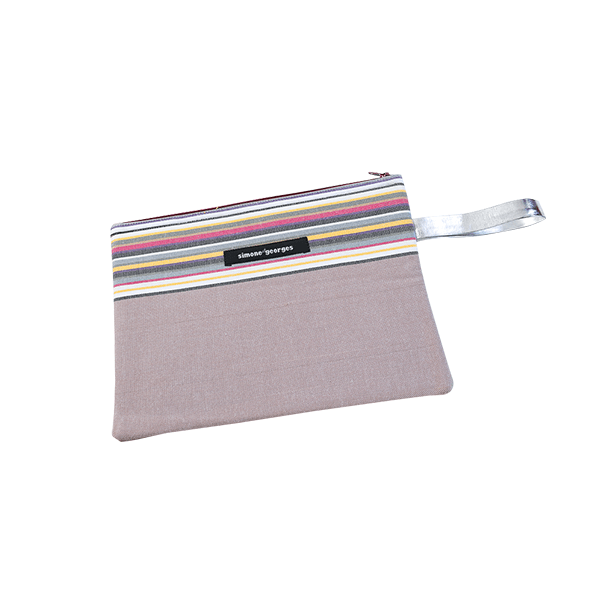 grande photo 1 Beach pouch Taupe