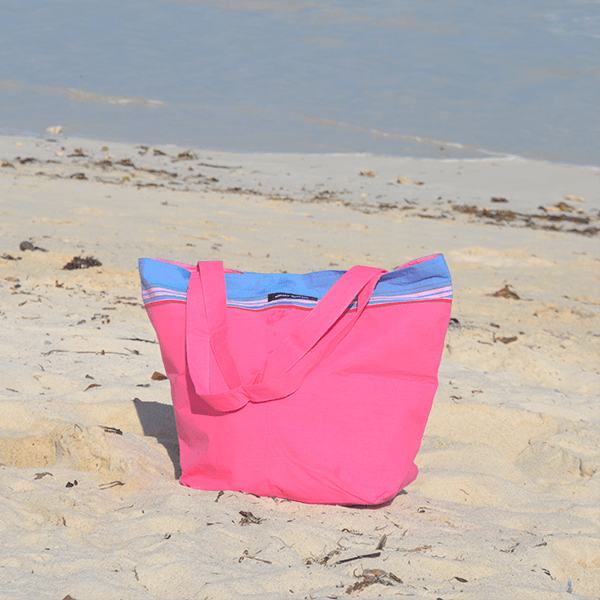 grande photo Bolso de playa Hibiscus