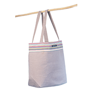 Beach bag Taupe