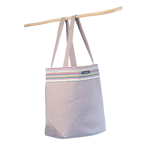 grande photo 1 Beach bag Taupe
