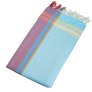 photo 1 Kikoy-towel Amani fluo